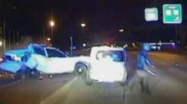 Still from crash footage