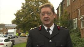 David Johnson, Chief Fire Officer for Essex County Fire and Rescue Service.