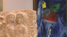 Chagall exhibition in France