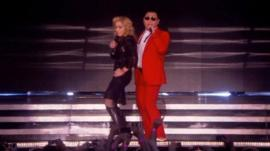 Madonna and Psy