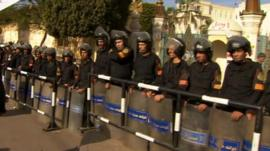 Security in Cairo