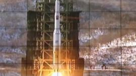 North Korea launches rocket in defiance of warnings