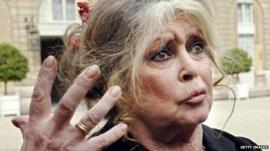 File photo of Brigitte Bardot (27 September 2007)
