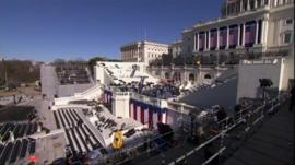 Preparations for the inaugration