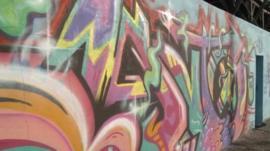 Graffiti in Tunisia