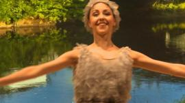Northern Ballet dancer