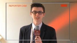 School Report filming masterclass