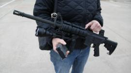A Panorama team in Texas was able to buy this gun without any checks