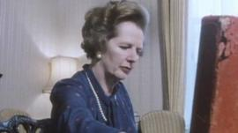 Margaret Thatcher as Prime Minister