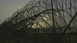 Fence on Yemen border