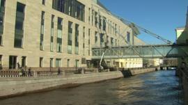 The new Mariinsky theatre