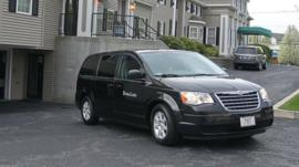 A vehicle believed to be carrying the body of Boston Marathon bombing suspect Tamerlan Tsarnaev