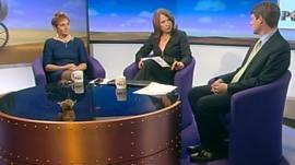 Clare Gerada, Jo Coburn and Chris Skidmore
