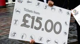 Commonwealth Games 'mock-up' ticket