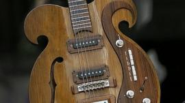 Beatles Guitar to go under the hammer