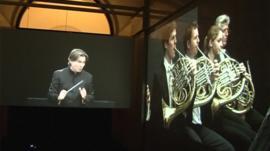 Orchestra exhibition