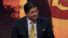 Dr Chris Nonis, Sri Lanka's High Commissioner to the UK.