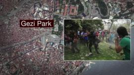 Gezi Park graphic