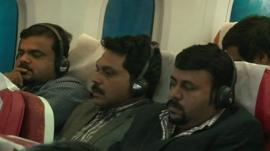Passengers on Air India Dreamliner flight