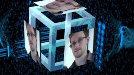 Edward Snowden graphic