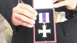 L/Cpl Lawrence Kayser's Military Cross