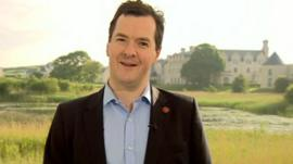 UK Chancellor of the Exchequer, George Osborne