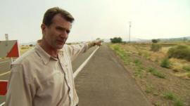 David Shukman in Arizona
