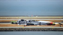 Asiana Airlines plane crash at San Francisco International airport