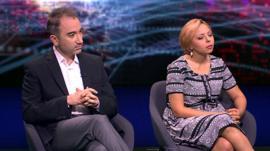 Mustafa Akyol and Dina Wahba