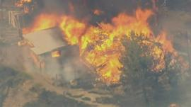 Fires continue to spread across southern California