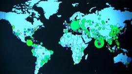 CGI image of hacking potential