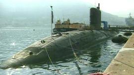 HMS Tireless, a British submarine