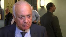 Nabil Elaraby, Secretary-General of the Arab League