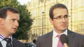 Alun Cairns MP and Owen Smith MP
