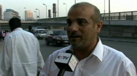 Cairo citizen says what he thinks of extension