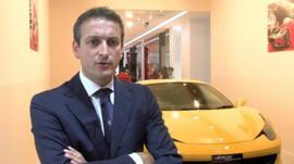 Enrico Galliera, senior vice president at Ferrari