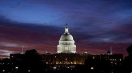 The US Capitol - meeting place of the US Congress