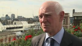 Head of Airports Commission, Sir Howard Davies