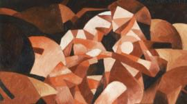 Dances at the spring by Francis Picabia