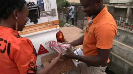 The BBC's Tomi Oladipo meets the people behind Nigeria's e-commerce revolution