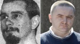 Peter Chester (pic: Blackpool Gazette) and George McGeoch
