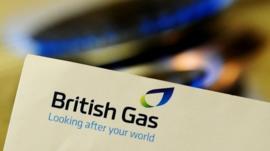 British Gas bill and gas hob