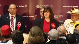 Manchester Central by-election count