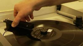 A record being played
