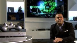 Marc Cieslak with PlayStation 4