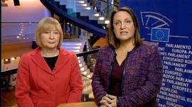 Mary Honeyball and Marina Yannakoudakis