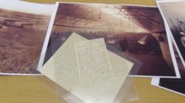 Archive photographs and letters