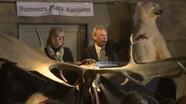 Auctioneer James Rylands