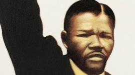 Portrait of a young Nelson Mandela by Kadir Nelson