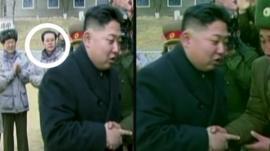 North Korean TV pictures
